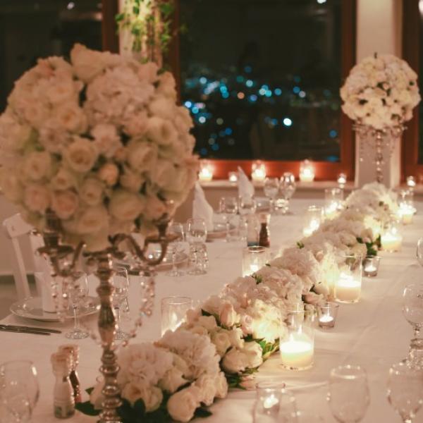 Weddings Reception Pyrgos Restaurant In Santorini